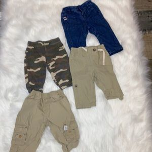 Boys 3-6M Pant and Short Lot. 13 Pieces